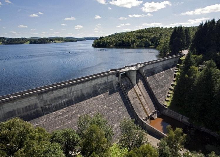 Découvrez Le Barrage Hydroélectrique Edf De Vassivière à Peyrat le Chateau
