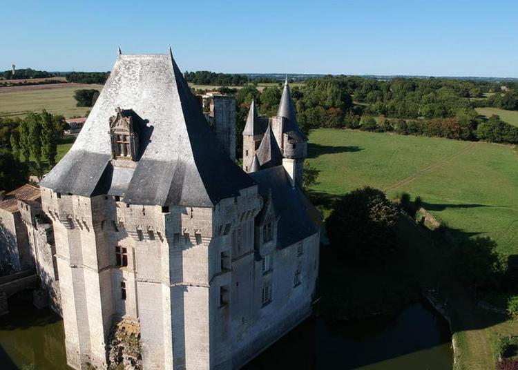 Découvrez Le Donjon Exceptionnel Du Château à Cherveux