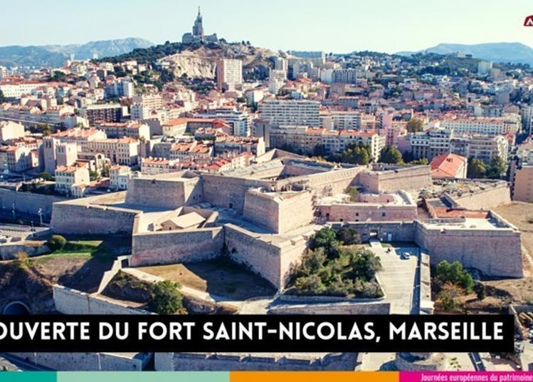 Découvrez Le Fort Saint-nicolas / Entrecasteaux Avec Acta Vista ! à Marseille