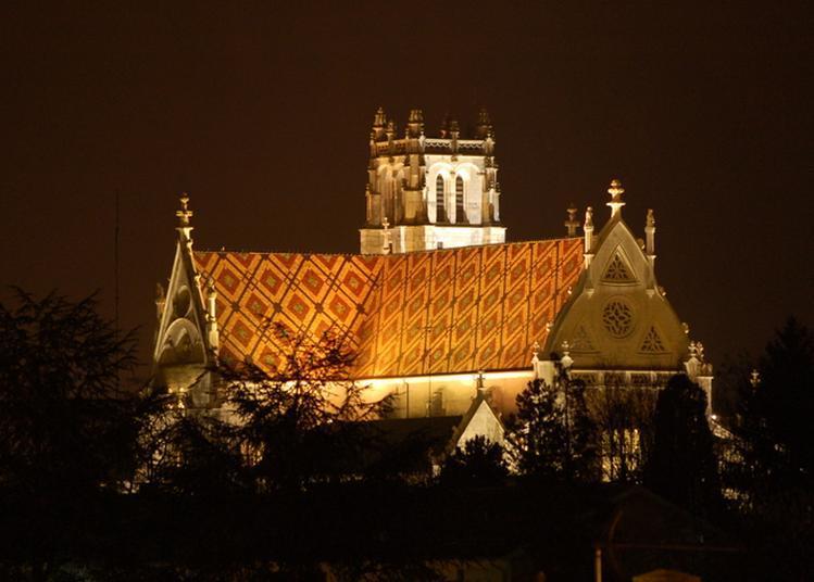 Découvrez Le Monastère Royal De Brou Illuminé à Bourg en Bresse