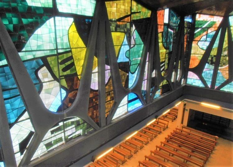 Découvrez Une église Labellisée « Architecture Contemporaine Remarquable » à Colmar