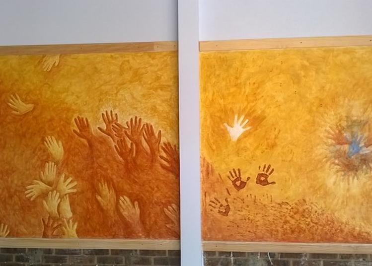 Découvrir La Fresque En Y Prêtant Ses Mains à Troyes