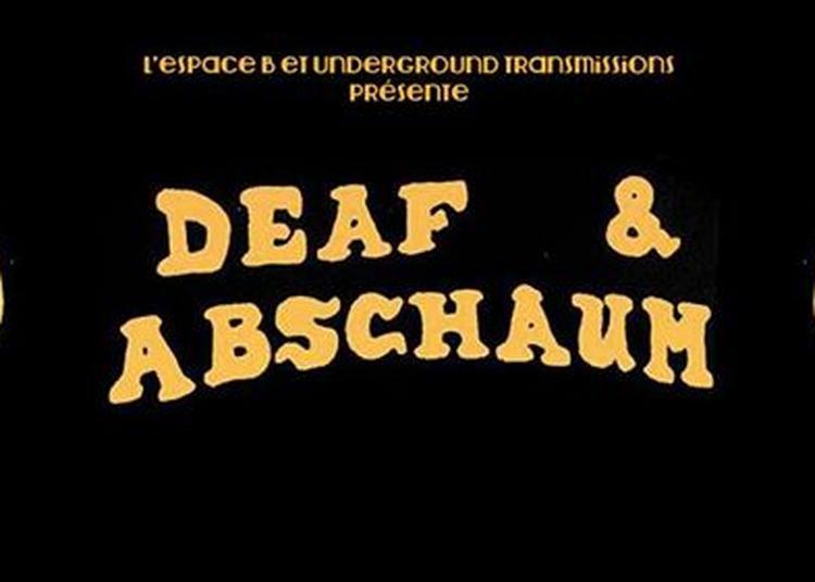 Deep : Deaf + Abschaum à Paris 19ème