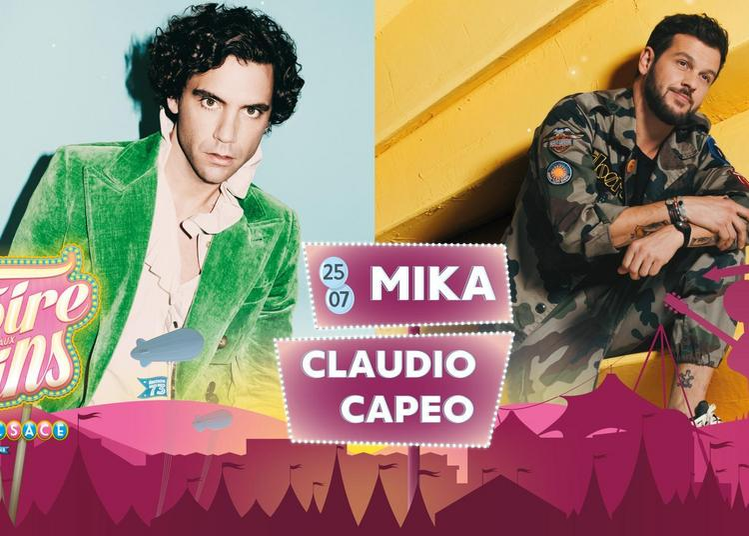 Mika Claudio Capéo à Colmar