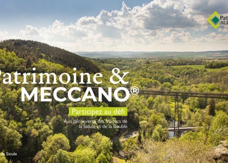 Défi Patrimoine & Meccano à Clermont Ferrand