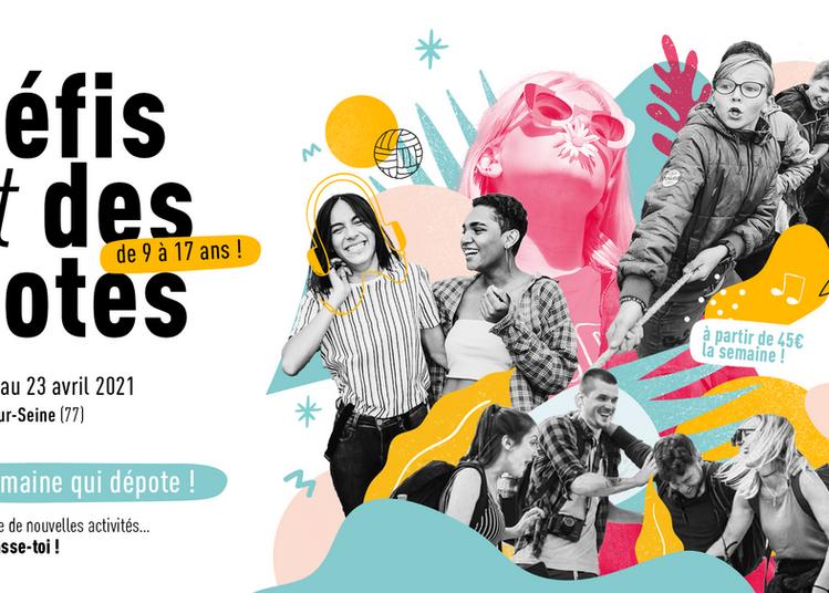 Défis et des potes : une semaine d'activités pour les 9-17 ans dans le 77 ! à Livry sur Seine