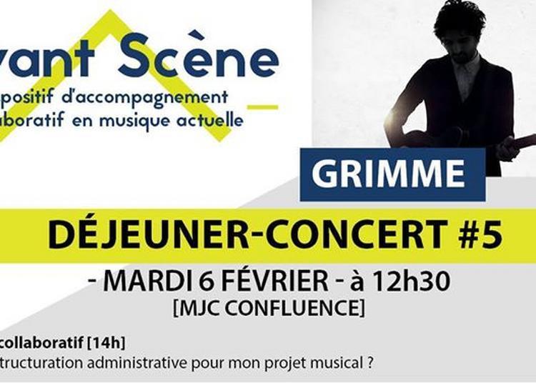 Déjeuner-Concert #5 - Grimme à Lyon
