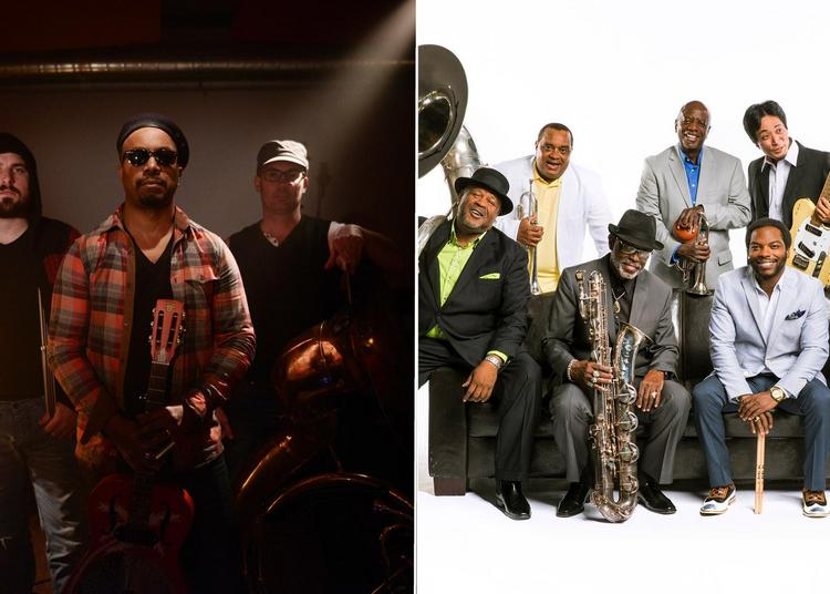 Delgres - Dirty Dozen Brass Band / Des Caraïbes à la Nouvelle-Orléans à Sete