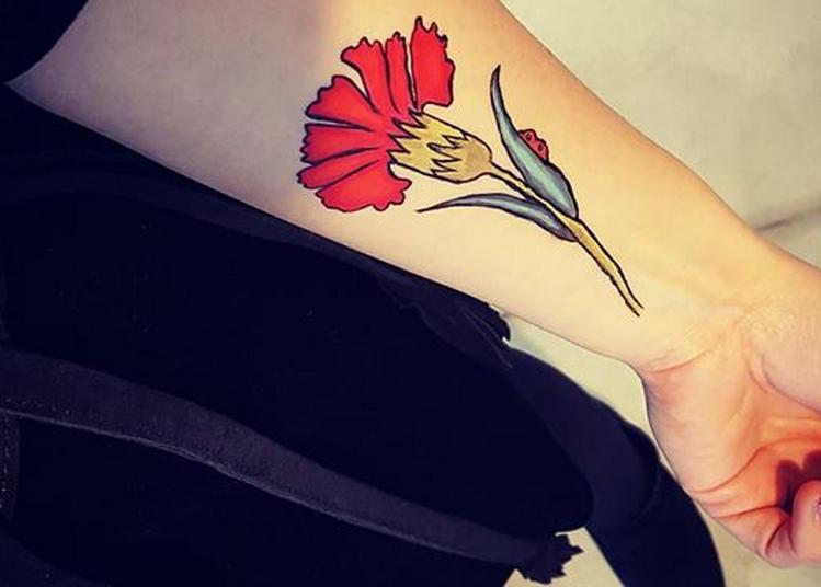 Délire artistique freestyle | Squatte le musée en mode tatouage! à Lens
