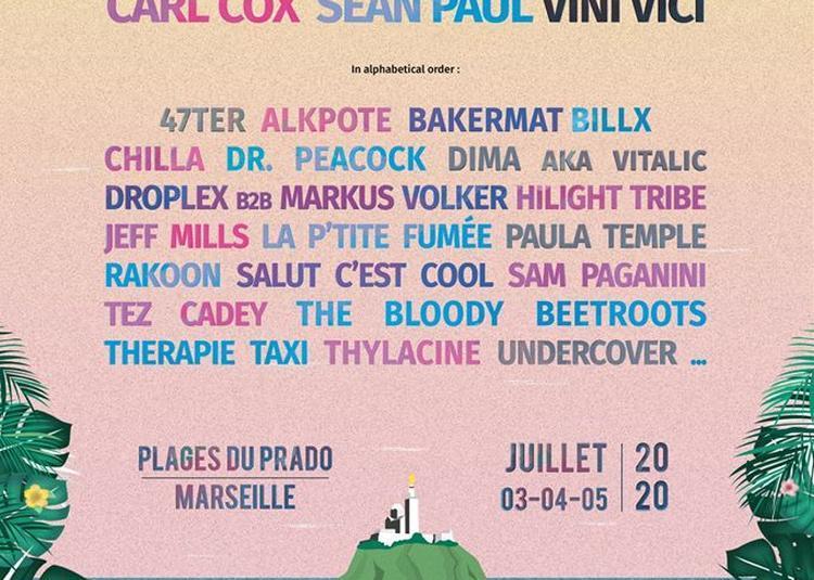 Delta Festival-Pass 3 Jours Vip à Marseille