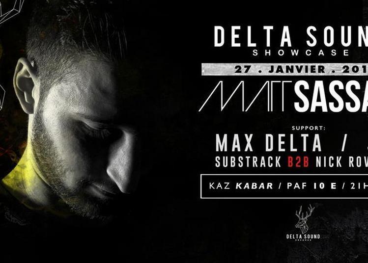 Delta Sound Showcase Invite / Matt Sassari à Joyeuse