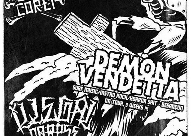 Demon Vendetta + Illegal Corpse à Besancon