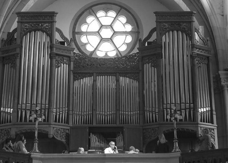 Démonstration D'orgue Au Temple Neuf à Metz