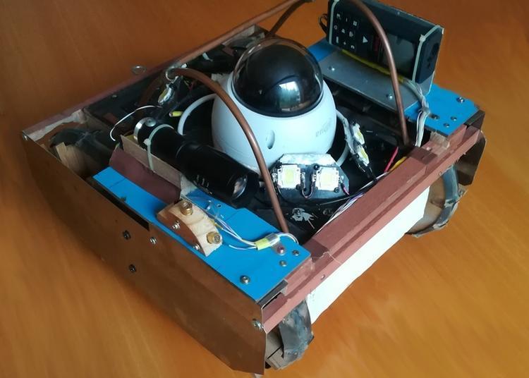Démonstration De Fonctionnement Du Robot Explorateur De Galeries Souterraines à Fontenay aux Roses