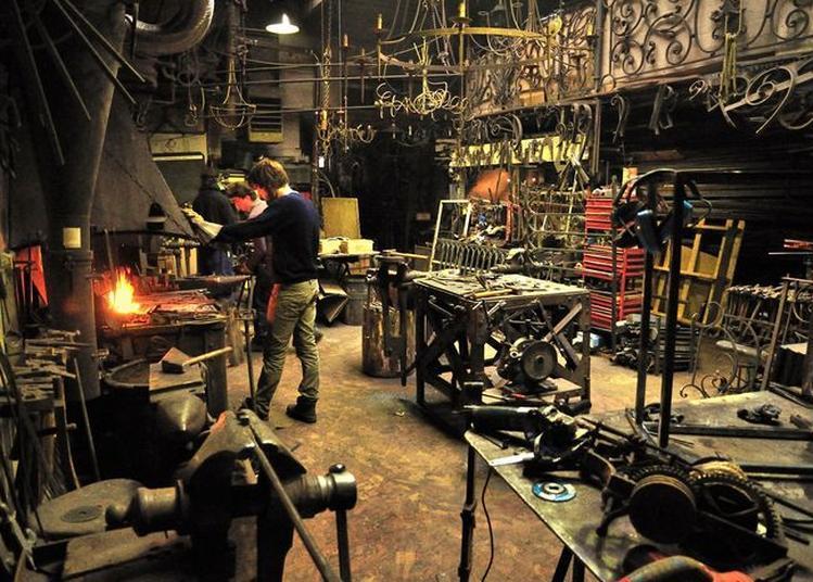 Démonstration De Forge D'art à Bordeaux