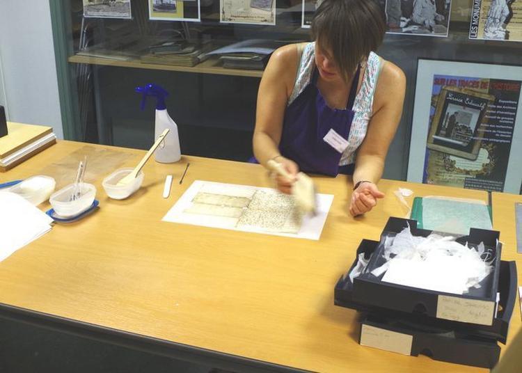 Démonstration De Restauration De Documents à Annecy