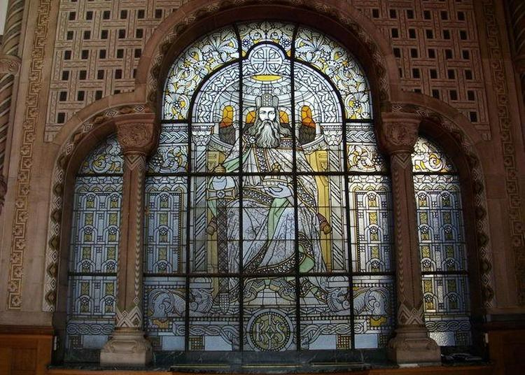 Démonstration De Restauration De Vitraux Historiques à Metz