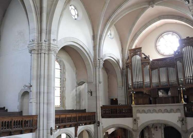 Démonstration Des Orgues Du Temple Protestant à Metz