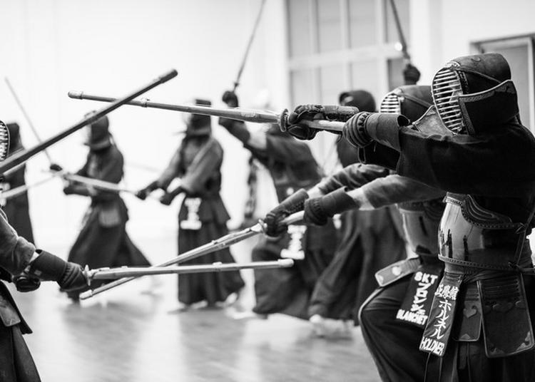 Démonstrations De Kendo, Par Le Dojo Seigakukan De Toulouse