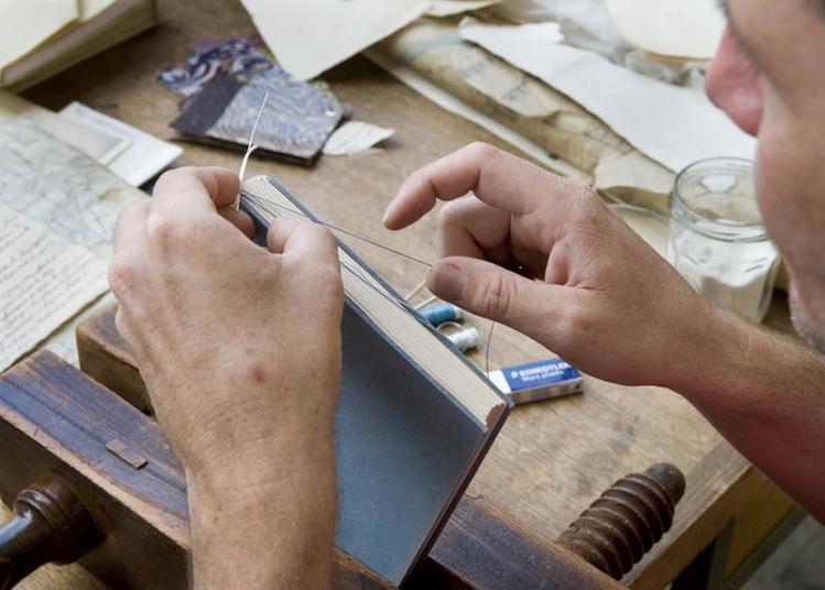 Démonstrations Des Ateliers De Restauration, Reliure Et Photographies à Pierrefitte sur Seine
