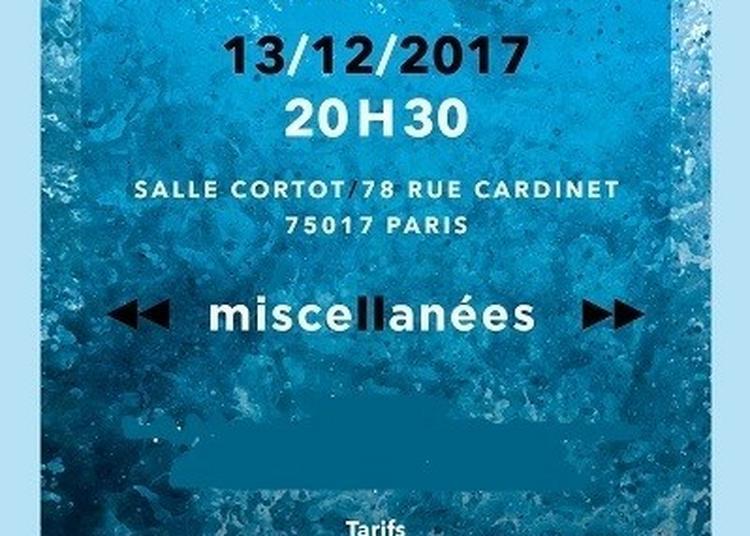 Denis Gancel Quartet à Paris 17ème