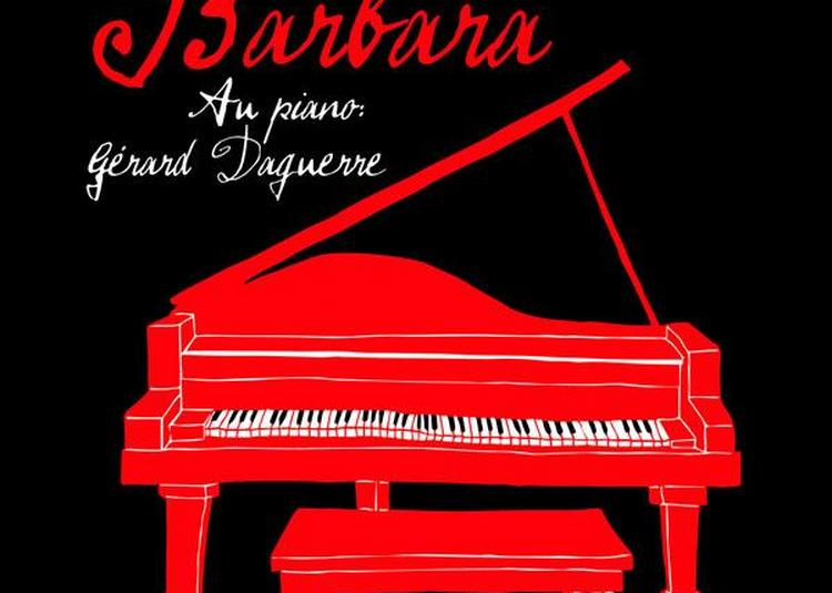 Depardieu Chante Barbara à Paris 11ème