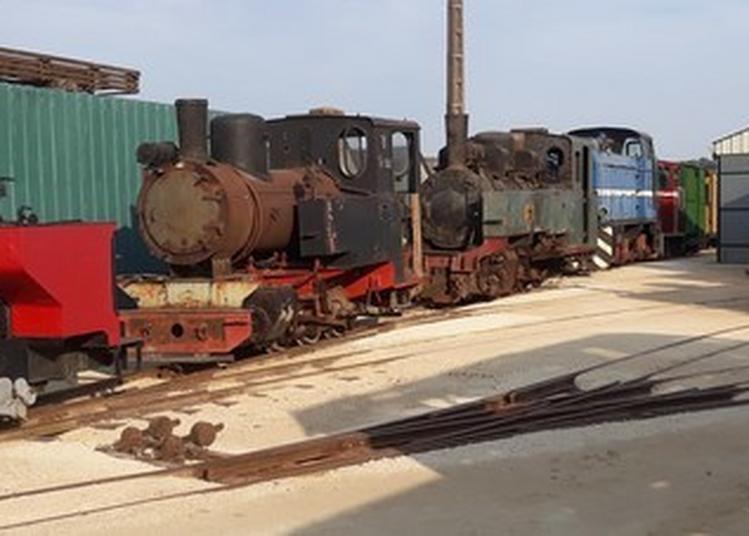 Dépôt De Matériel Ferroviaire En Voie étroite à La Pinelière à Saint Germain d'Arce
