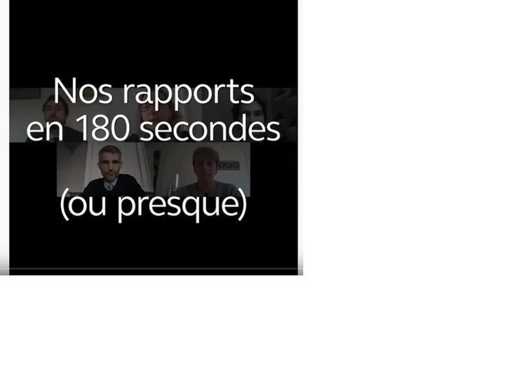 Depuis Chez Vous : Les Rapports De La Cour En 180 Secondes à Paris 1er