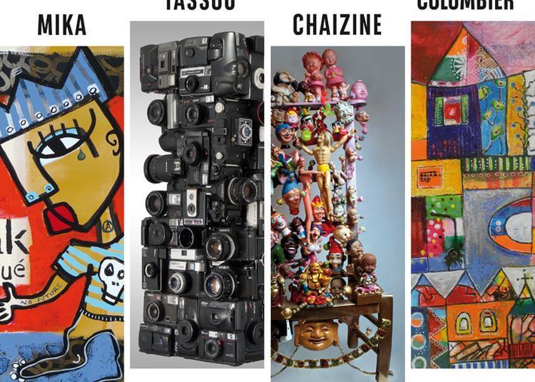 Dernière exposition de la saison 2017 au village d'artistes à Rablay sur Layon