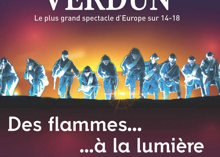 Des Flammes A La Lumiere à Verdun