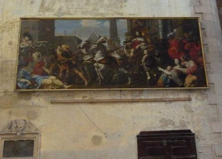 Des Tableaux De La Cathédrale à Toulouse