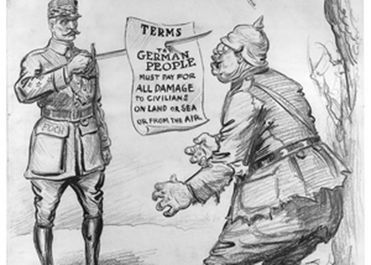 1918, armistice(s). de l'avant à l'après 11 novembre à Paris 7ème