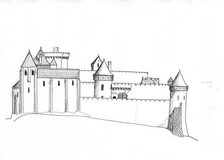 Dessine-moi Un Château Fort à Le Blanc