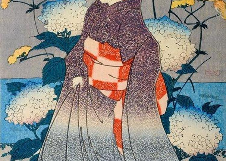 Dessiner au musée : les estampes japonaises à Toulouse