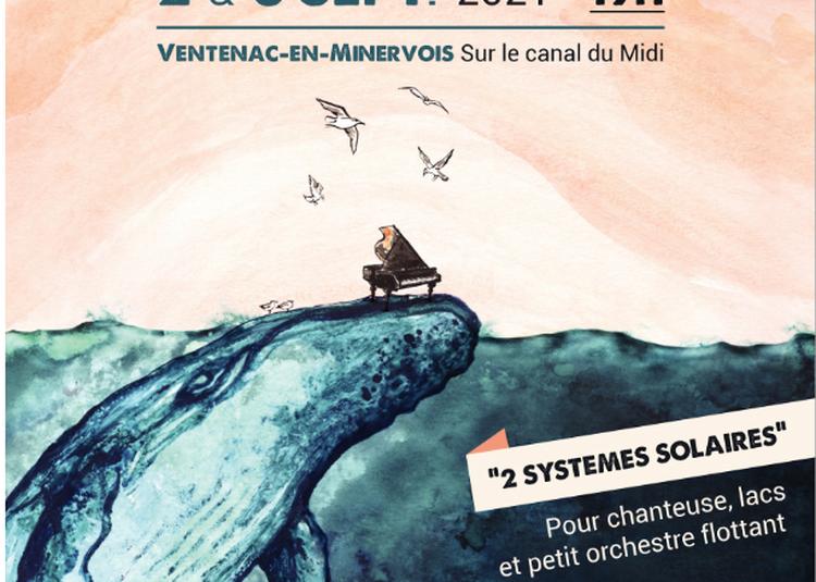Le Canal Du Midi, Scène Aquatique Et Éphémère Pour Deux Concerts Inédits à Ventenac en Minervois