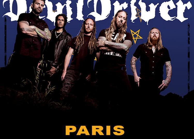 Devildriver à Paris 13ème