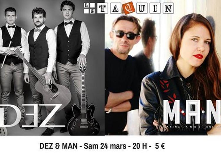 Dez & Man - Chanson/rock & pop à Toulouse