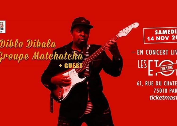 Diblo Dibala à Paris 10ème