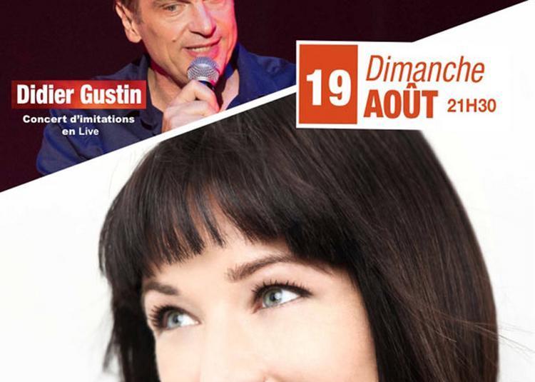 Didier Gustin - Natasha St Pier à Sainte Maxime