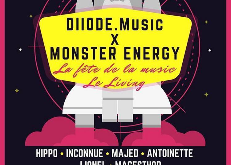 Diiode Music - Monster energy (Fête de la Musique 2018) à Amiens