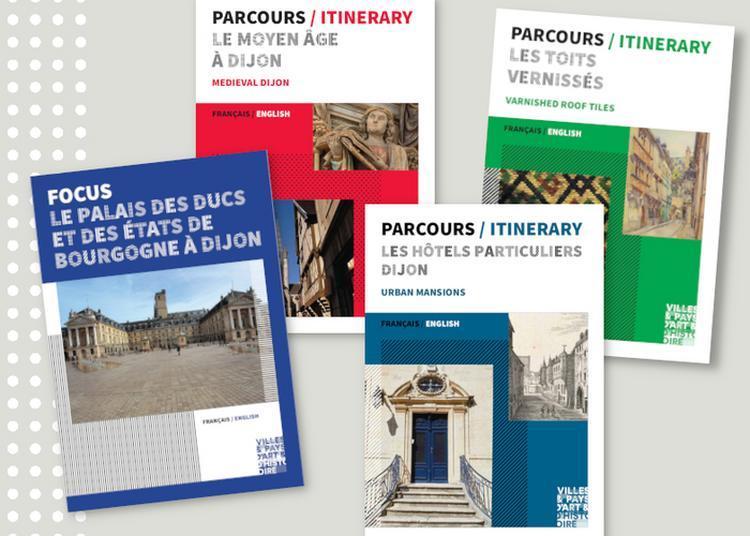 Dijon : Parcourir La Ville, Brochures à La Main