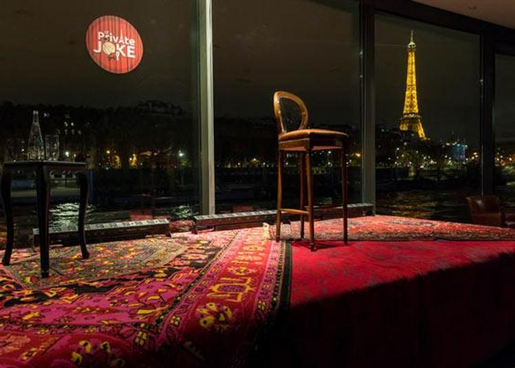 Dîner-Croisiere & Stand Up Comedy à Paris 8ème