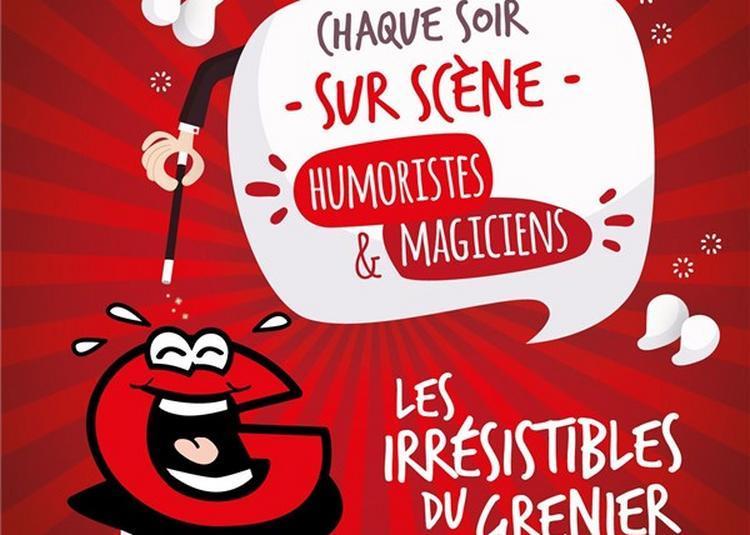 Diner Spectacle Le Grenier à Paris 17ème