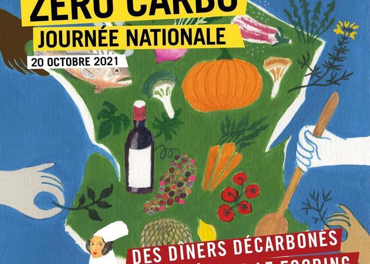 Dîner Zéro Carbo chez Alessandra Montagne-Gomes chez Nosso (Paris) - Journée nationale Zéro Carbo 2021