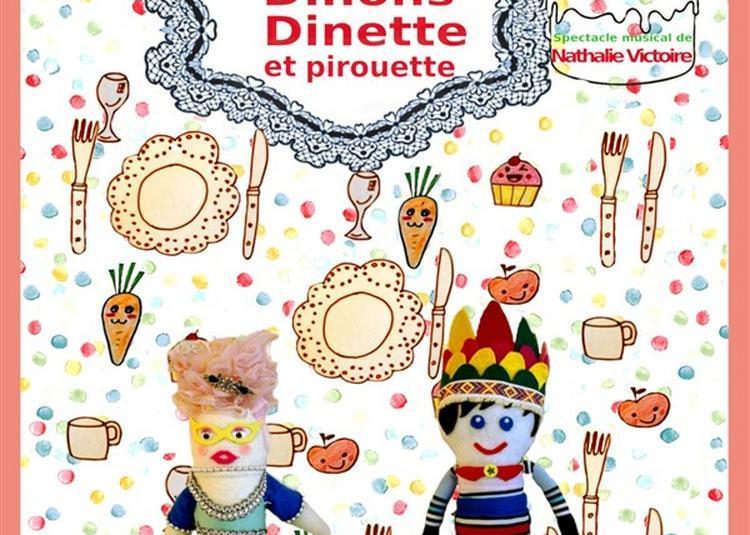 Dînons Dinette Et Pirouette à Paris 18ème