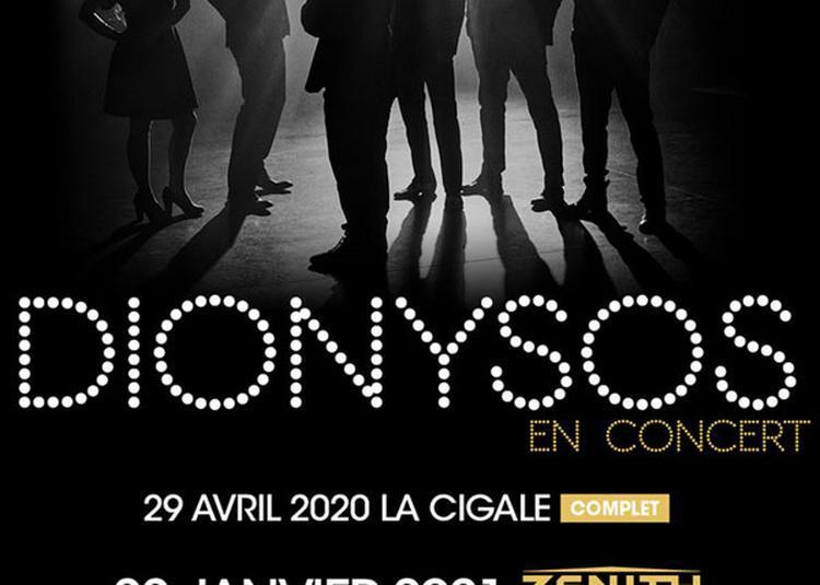 Dionysos à Paris 19ème