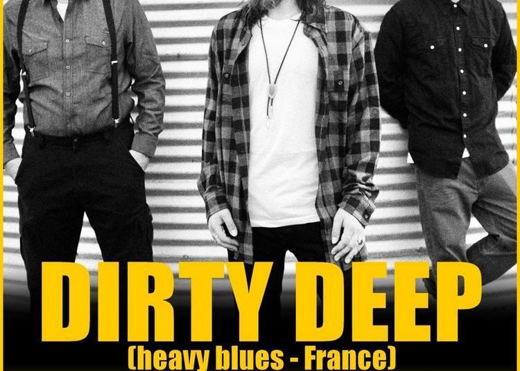 Dirty Deep (heavy Blues) Et Guest Chez Wood Stock Guitares Ensisheim