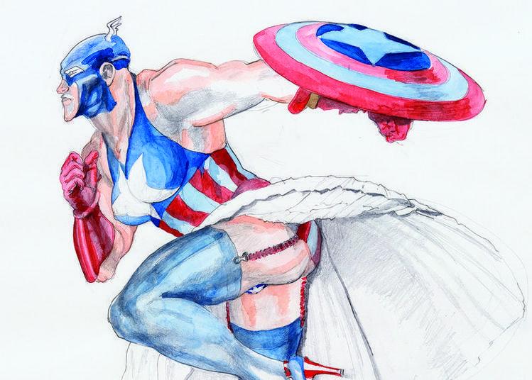   Discussion Illustrée   Super-héros In à Metz
