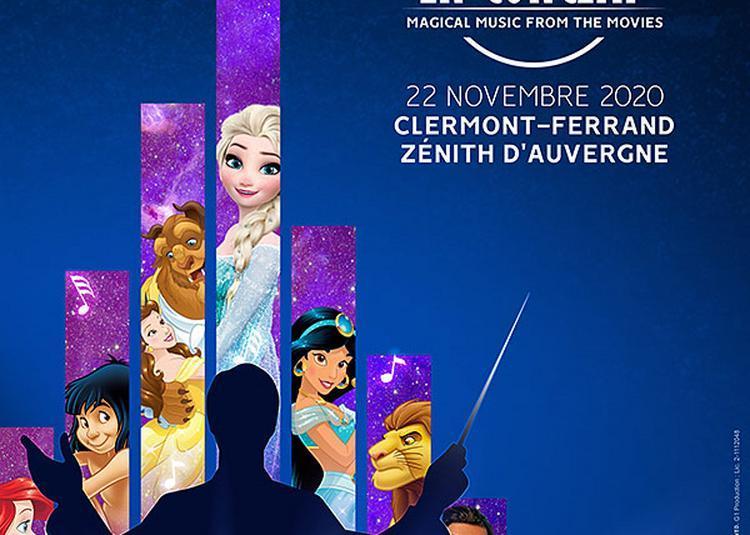 Disney En Concert - report à Clermont Ferrand