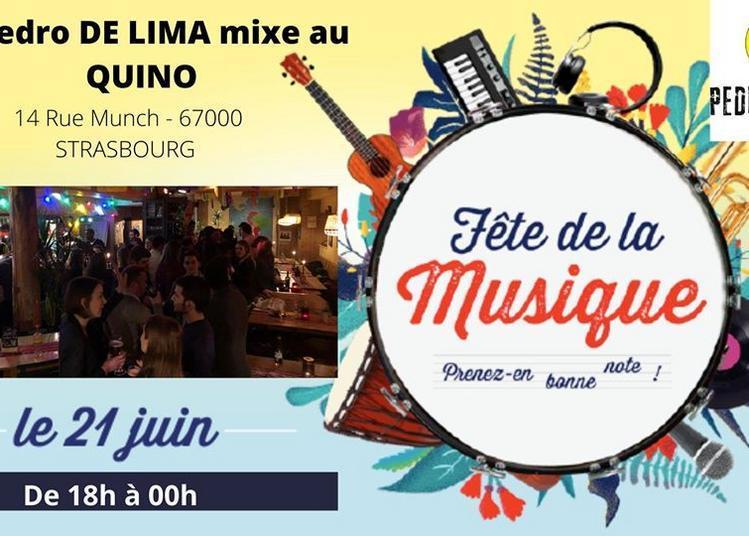 DJ Pedro de Lima mixe au Quino à Strasbourg